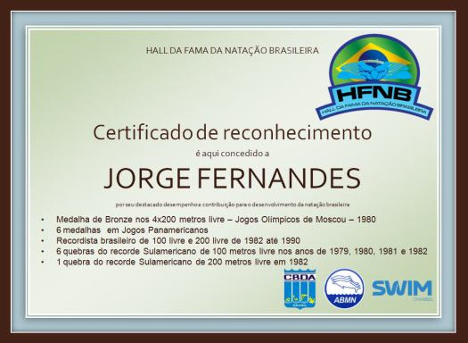 Certificado - Jorge Fernandes